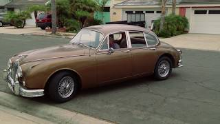 1962 Jaguar Mk2 3.8, original, unrestored, matching numbers for sale in southern California