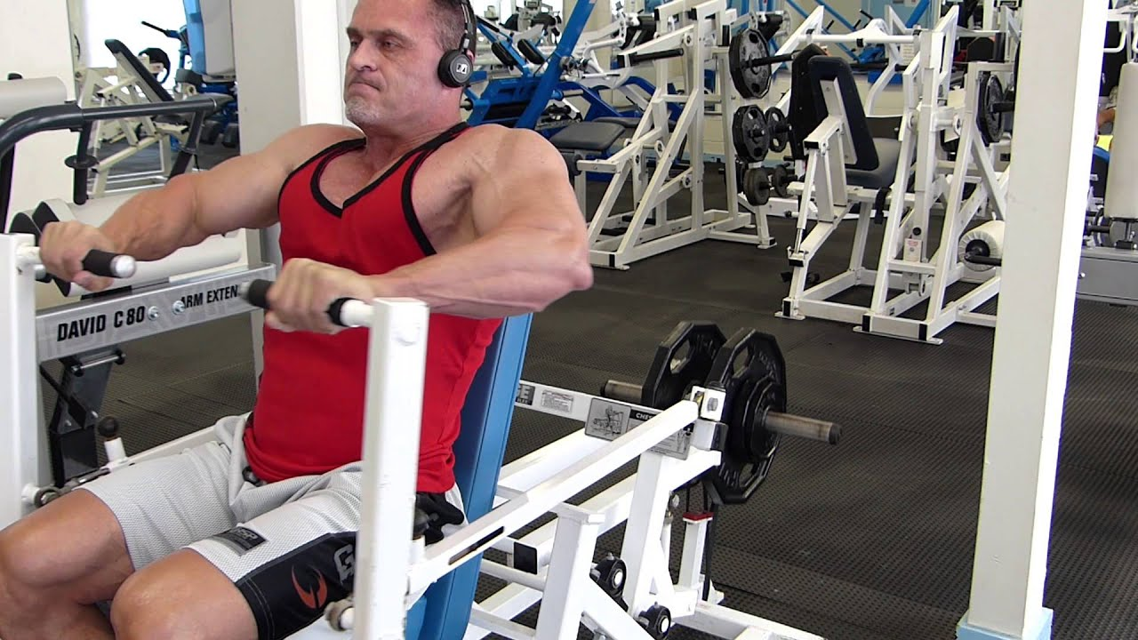 Chest Training 01 26 Flex Leverage Chest Press With Bands