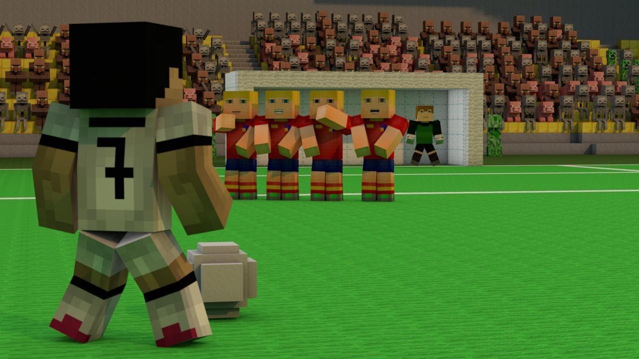 كرة قدم ماين كرافت