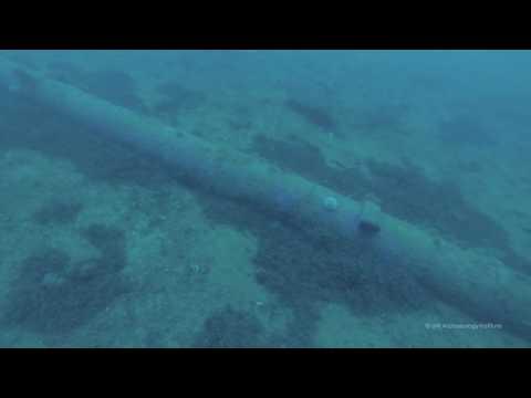 Remains of the German Battlecruiser Von der Tann, Scapa Flow