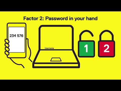 Cybersecurity Awareness: Your best defence against password hacking is two-factor authentication