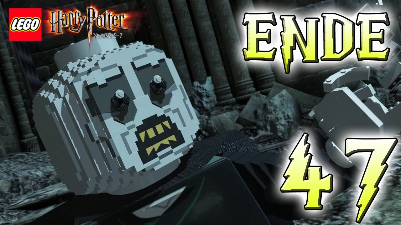 Lego Harry Potter 047 Ende Harry Potter Vs Lord Voldemort Egowhity Youtube