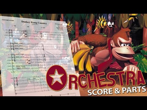 Donkey Kong Country: Symphonic Suite | Orchestral Cover