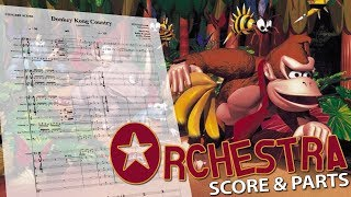 "Donkey Kong Country: ""Symphonic Suite"" - Orchestral Cover - Score & Parts"