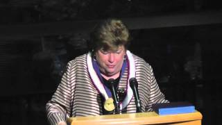 Delaine Eastin recoginized by University of California Davis - 2015 Gold Medal