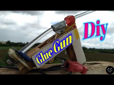 How to make hot Glue Gun.