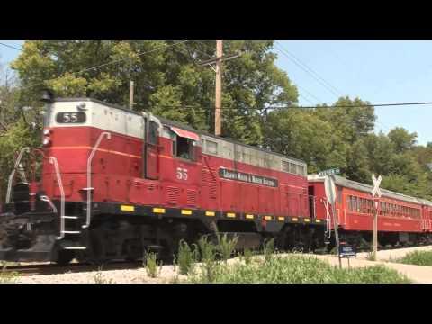 A ride on the Lebanon Mason & Monroe Railroad (LM&M)