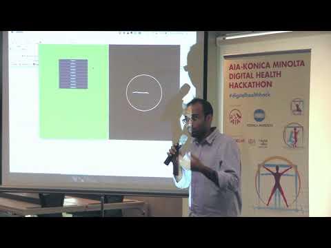 AIA Konica Minolta Digital Healthcare Hackathon  First Prize   Bio rithm
