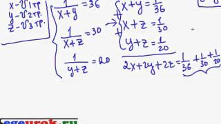 гиа по математике 2012 видеоуроки