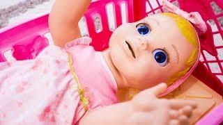 Говорящая кукла НАСТЯ Хочет Спать Яна как МАМА