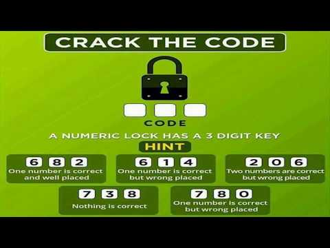 Crack The Code | Solution| Brain Teasers | 682 614