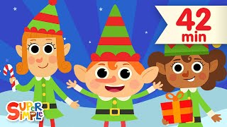Фото Five Little Elves  More Christmas Songs For Kids Super Simple Songs