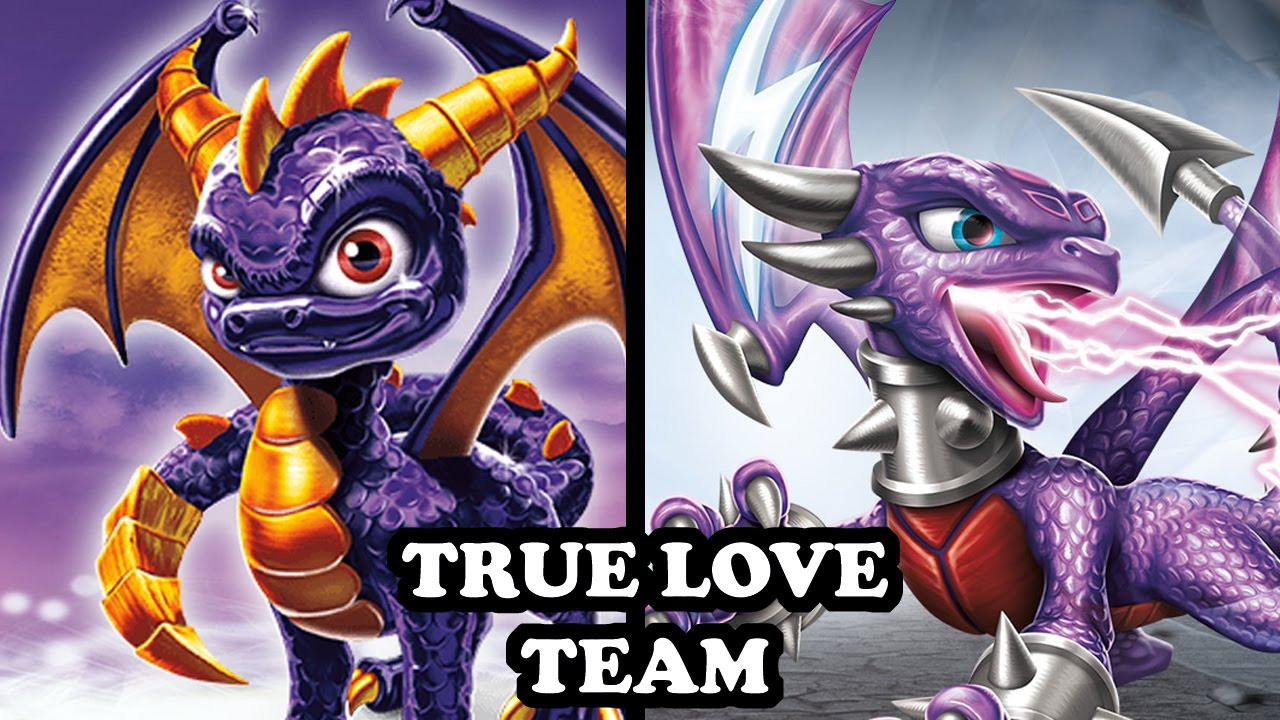 Skylanders Spyro And Cynder In Love | www.imgkid.com - The ...