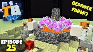Truly Bedrock Episode 25! Getting BEDROCK IN SURVIVAL!? Minecraft Bedrock Survival Let's Play!