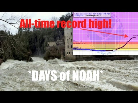 *Breaking* | Walker River to reach All-Time Record High! | On verge of WILD flood!