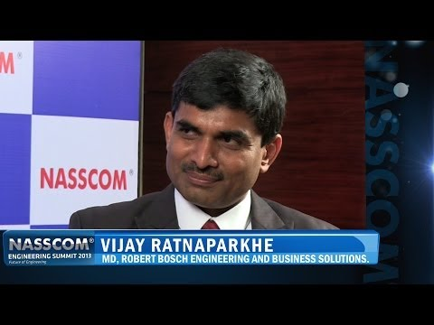 Vijay Ratnaparkhe, Managing Director, Robert Bosch Engineering and Business Solutions