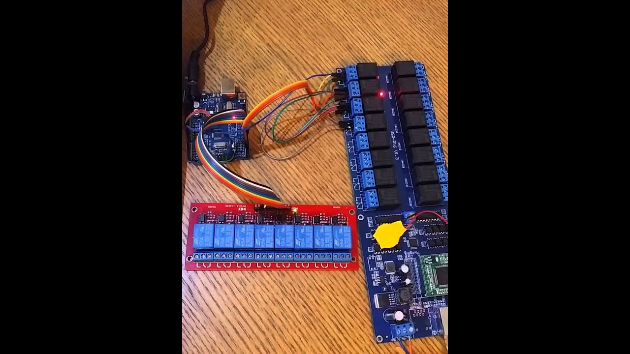 16 Channel Relayremote Control Switch By Lan Arduino 8 Relays Wiring A Relay And
