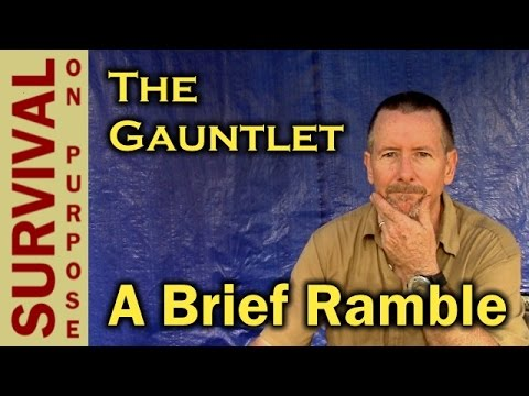 The Gauntlet Gear Review Group - A Few Thoughts