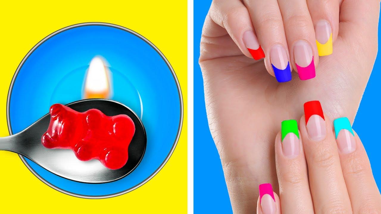 Creative Manicure Ideas And Nail Hacks