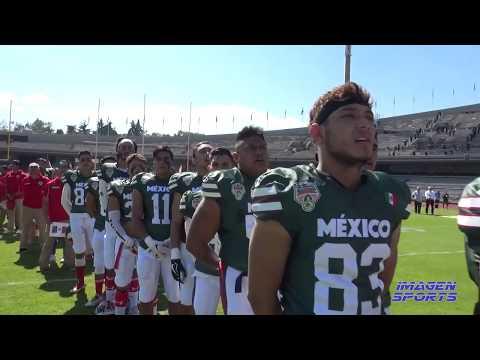 Tazón Azteca XLV Selección Mexicana de la ONEFA vs All American Eagles