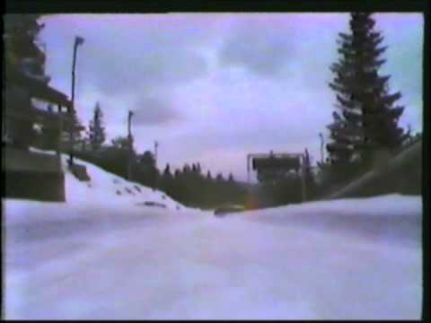 1984 Winter Olympics - Two-man Bobsled 2nd run - Part 1