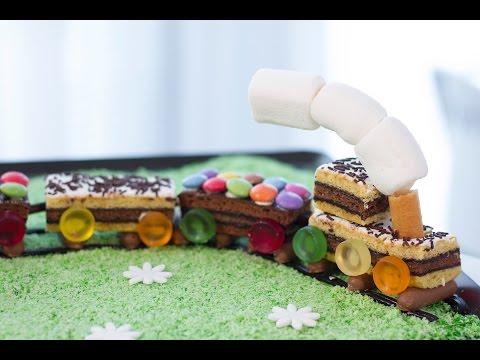 gâteau-train-d'anniversaire-facile