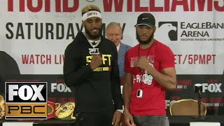 Full press conference for Jarrett Hurd vs Julian Williams | PRESS CONFERENCE | PBC ON FOX