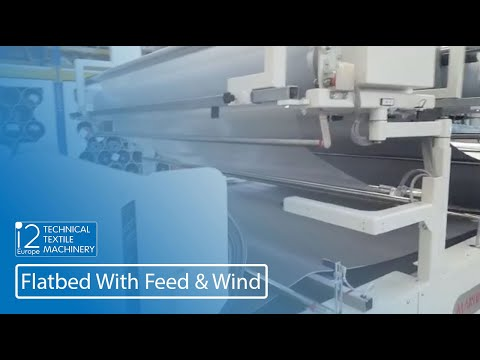 Flatbed with feed and wind