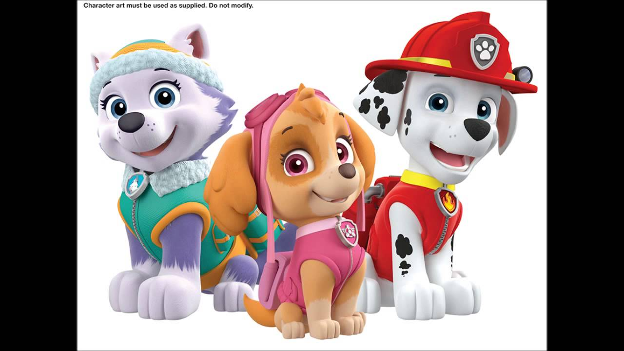 Everest from paw patrol youtube