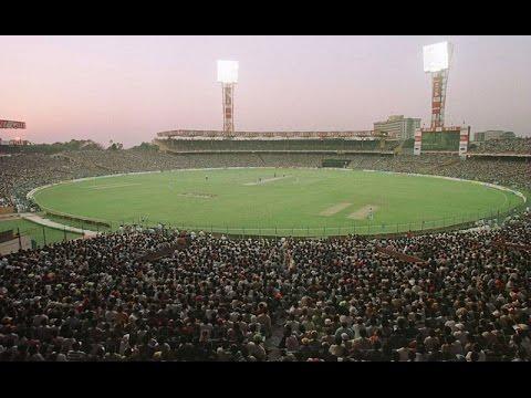 Eden Garden electrifying  crowd Atmosphere in India vs Pakistan match