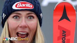 Shiffrin Wins By Huge Margin For Slalom 4 Peat In Killington | Nbc Sports