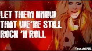 Avril Lavigne - Rock 'n Roll (Lyrics)