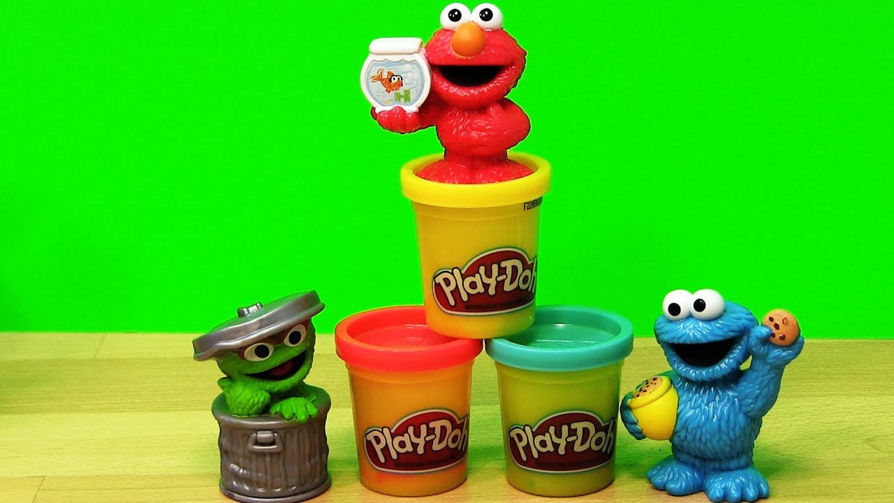 Simple Learning to mix Play-Doh Primary Colors Red Blue Yellow ...