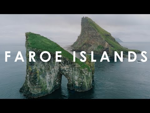 Faroe Island: the most scenic spots from above (in 4K)