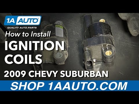 How to Replace Ignition Coils 07-14 Chevy Suburban 1500 ... Ignition Wiring Diagram Chevy Saburban on