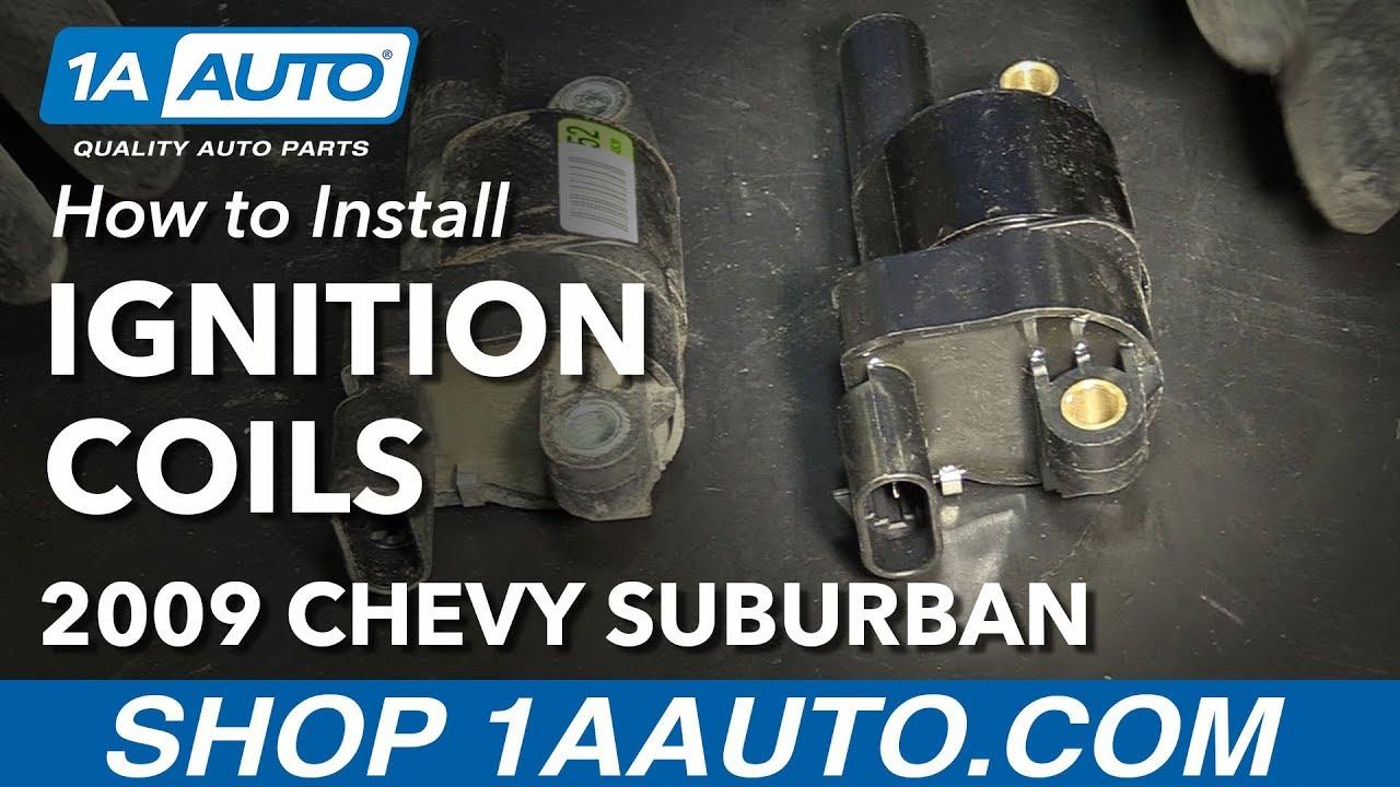 How To Install Replace Ignition Coils 2007 14 Chevy Suburban 1500 2014 Silverado Engine Diagram