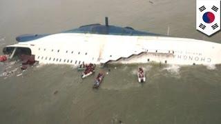 South Korean ferry disaster: Hundreds still missing in Sewol sinking