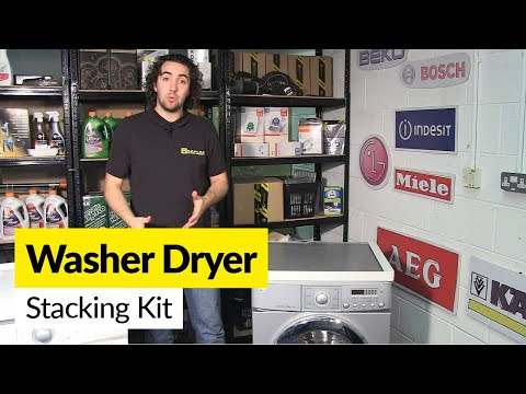 How To Use Washer Dryer Stacking Kit