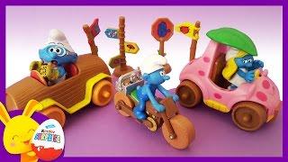 Les Schtroumpfs et leurs voitures - Jouets pour enfants - Titounis - Touni Toys