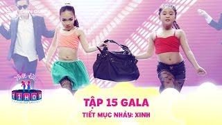 """Biệt tài tí hon   tập 15: Ngô Kiến Huy """"đứng hình"""" trước hai cô bé 7 tuổi """"quẩy"""" với hit Thu Minh"""