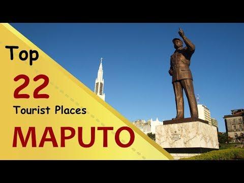 """MAPUTO"" Top 22 Tourist Places | Maputo Tourism | MOZAMBIQUE"