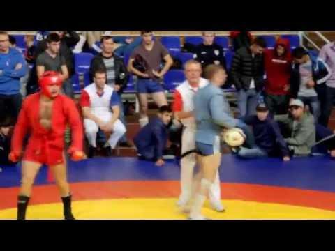 Александр Бобров полуфинал Сибирева 2016 боевое самбо Alexander Bobrov Combat Sambo Sibireva