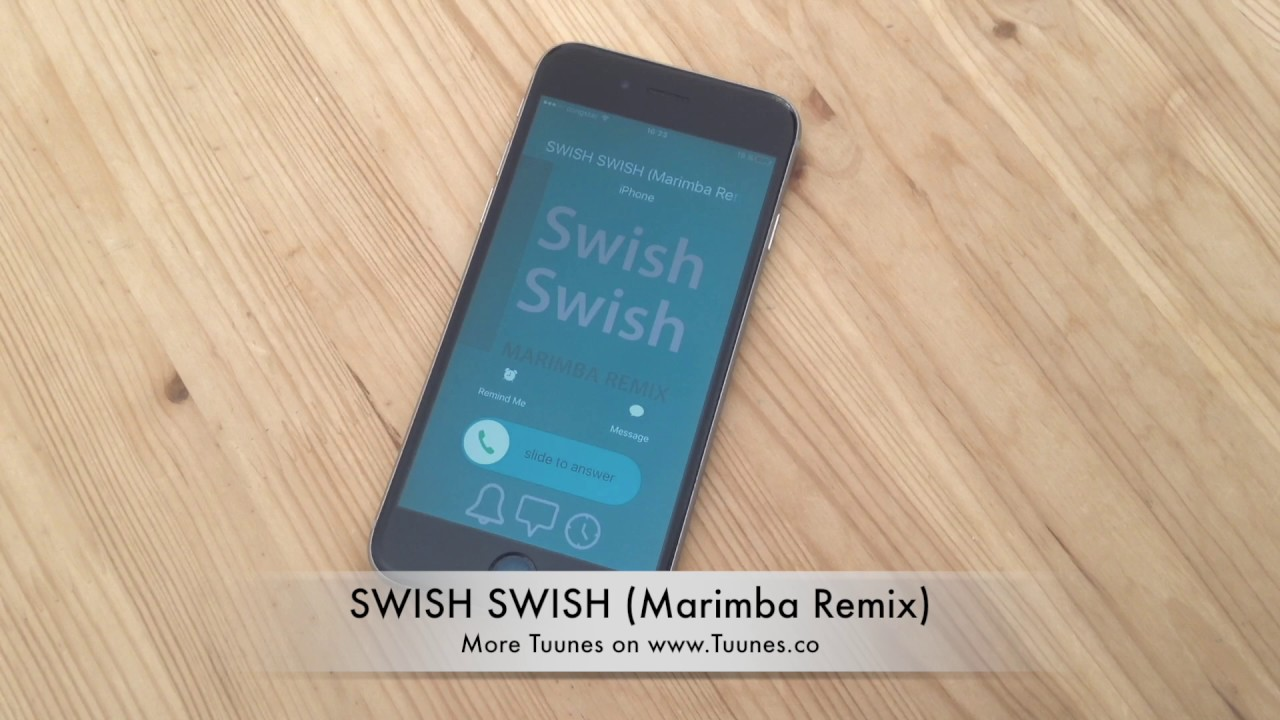 iphone marimba remix swish swish ringtone katy perry tribute marimba remix 12022