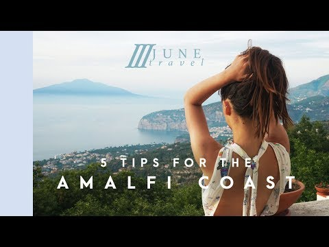 5 THINGS YOU NEED TO KNOW WHEN VISITING THE AMALFI COAST //