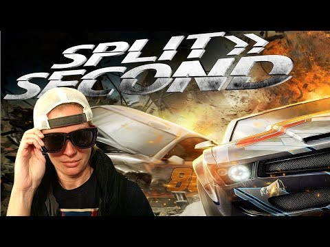 Fast Cars & Cool Dudes - Split / Second Gameplay
