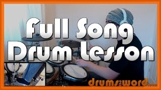 "★ Waterfall (The Stone Roses) ★ Drum Lesson PREVIEW | How to Play Song (Alan ""Reni"" Wren)"