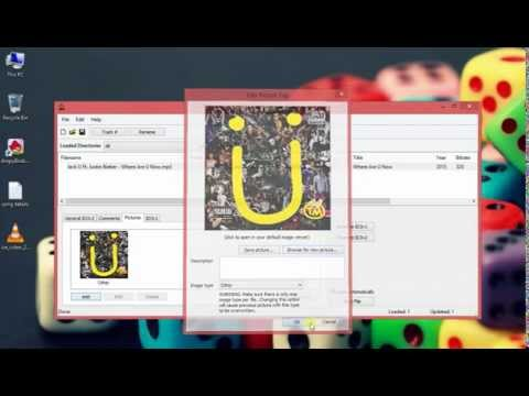 How to add information to an mp3 file