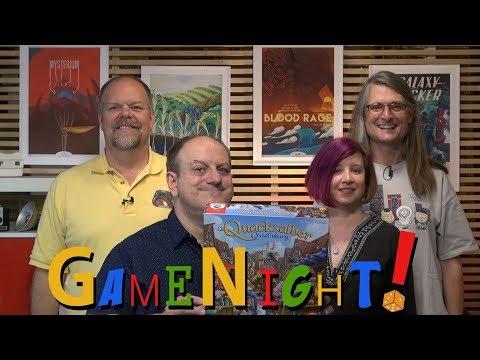 The Quacks of Quedlinburg - GameNight! Se6 Ep8  - How to Play and Playthrough