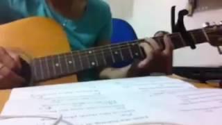 Xóm đêm guitar