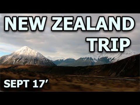 New Zealand Trip - Sept 2017 - Marc Tardif / Eliane Jolicoeur
